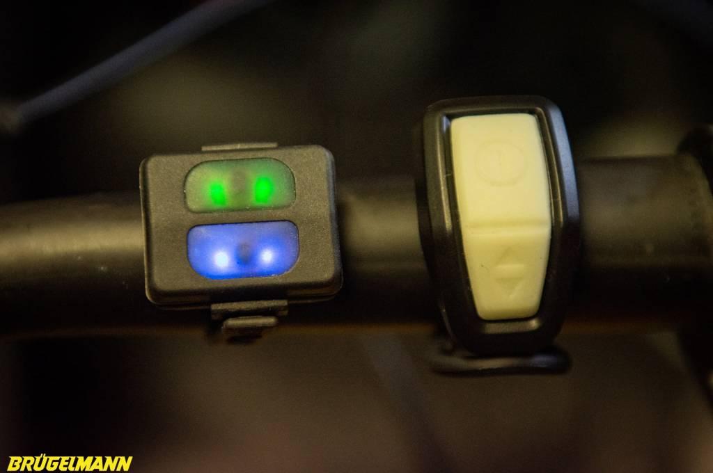 Bluetoothfernbedienungen der beiden Lampen von Lupine und Sigma