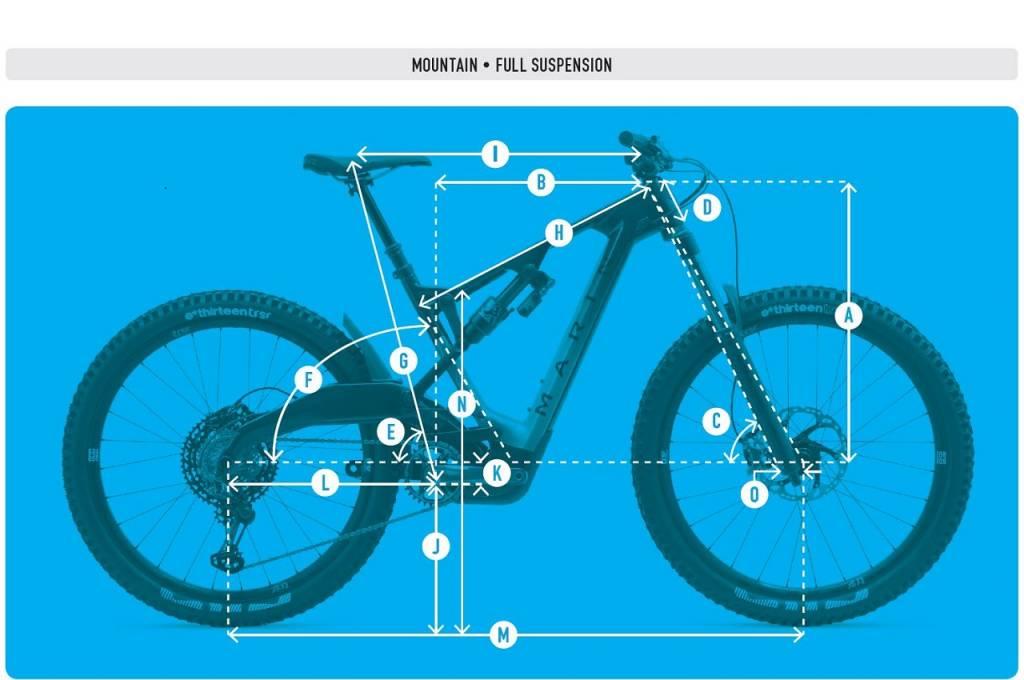 Marin Mount Vision Geometrie-Datenblatt