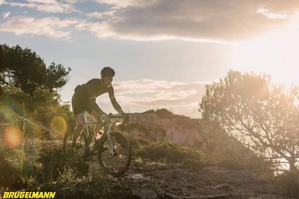 Felsige Trails fordern andere Skills als das pure Rennradfahren