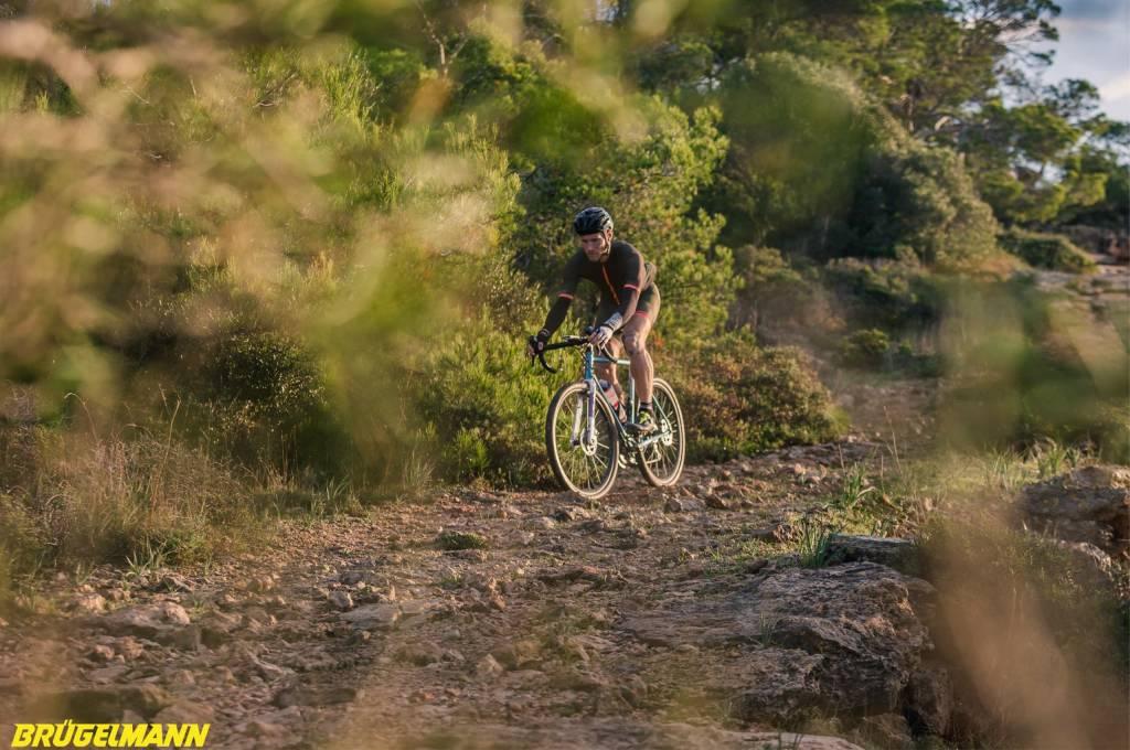 Felsige Trails, perfekt zum Gravel, hat Mallorca viele zu bieten