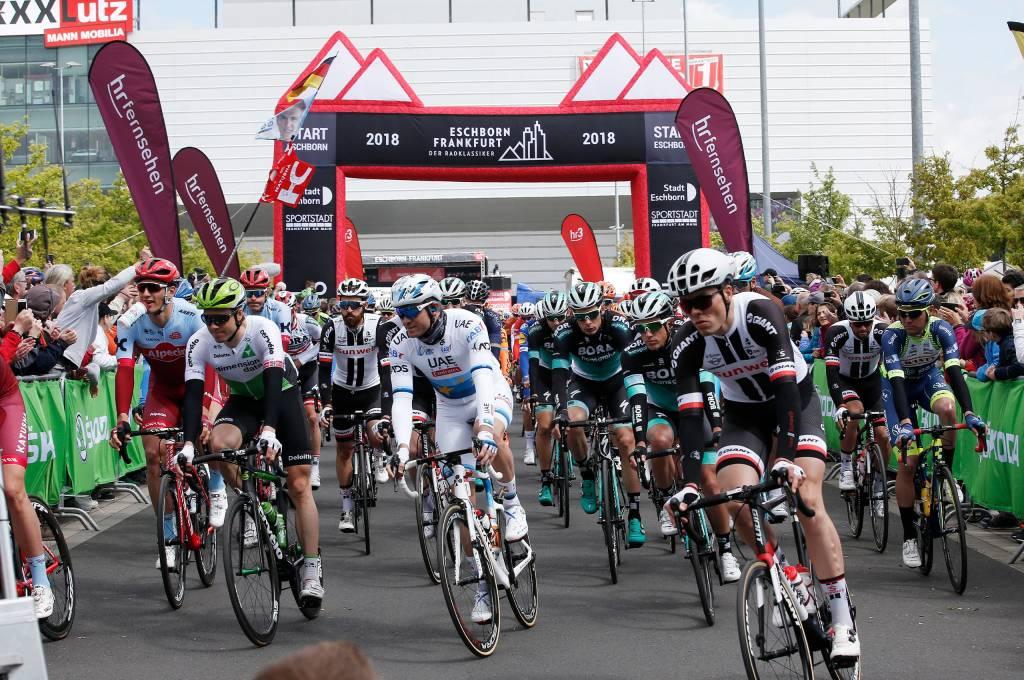 Klassiker Rennen Frankfurt Eschborn