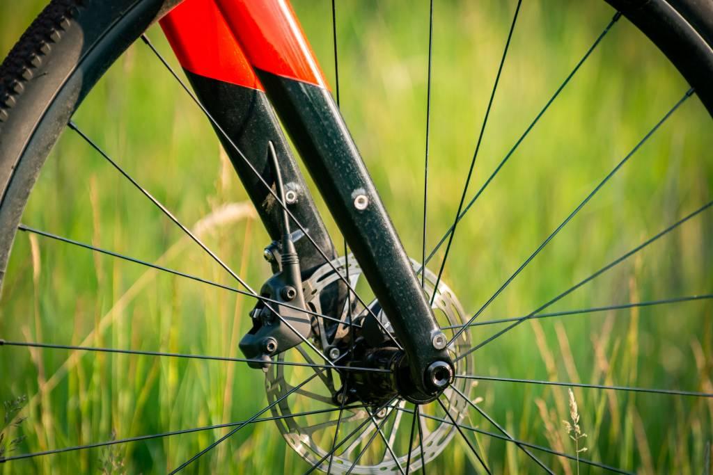 Cannondale Topstone Carbon Detail Gabel mit Ösen