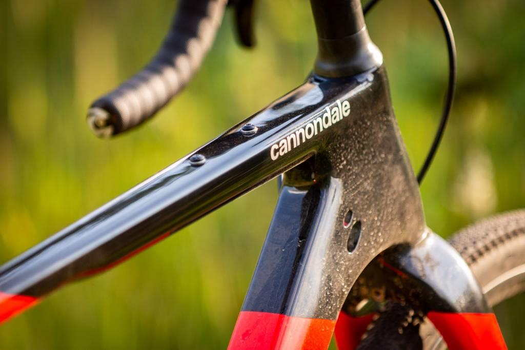 Cannondale Topstone Carbon Detail Gewindeösen Bikepackingzubehör