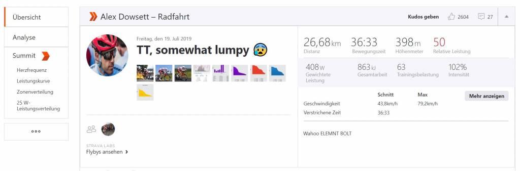 Alex-Dowsett Strava Tour 2019 Etappe 13
