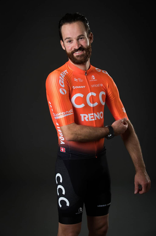 Simon Geschke im neuen Team CCC Outfit