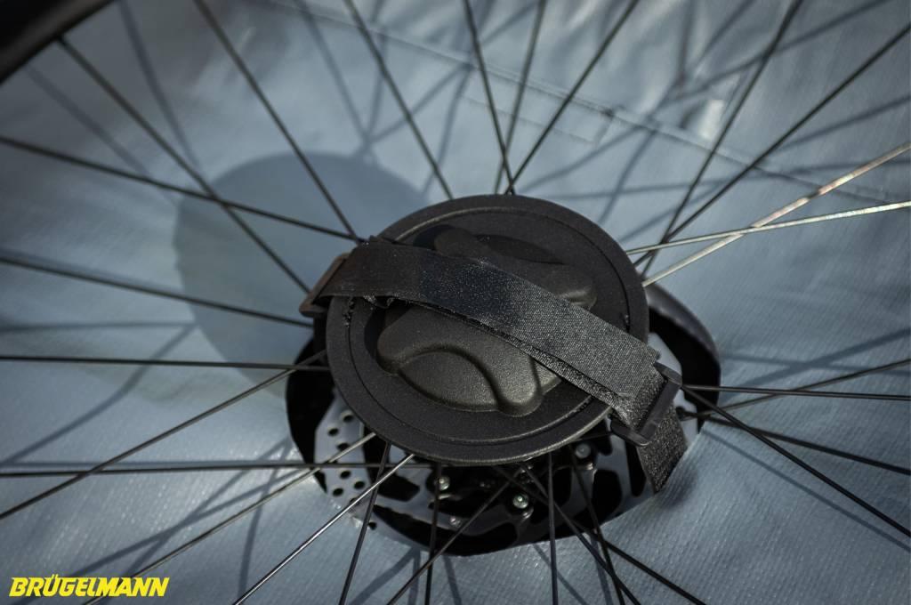 Biknd Helium V4 Fahrradtransportttasche Nabenschutz