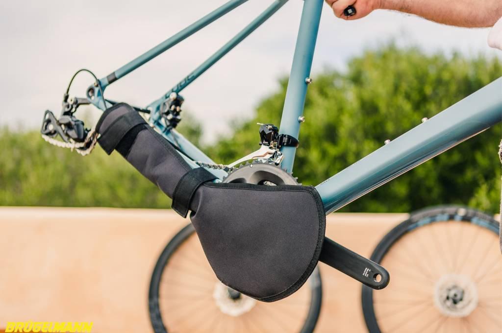Biknd Helium V4 Fahrradtransportttasche Kettenschutz