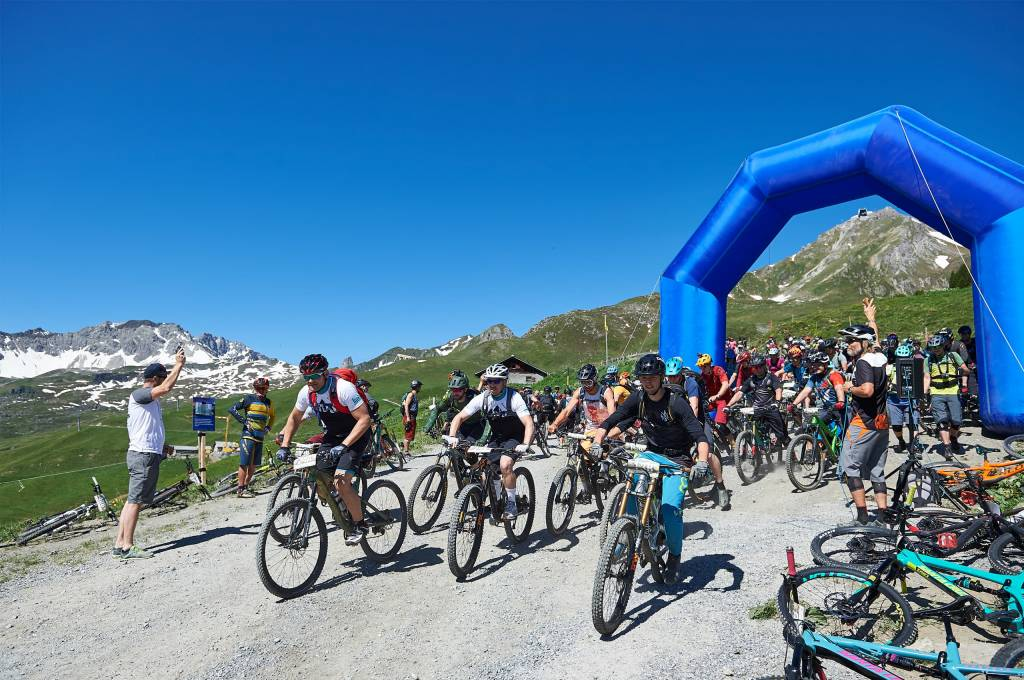 Start Hörnli Trailjagd Arosa 2019