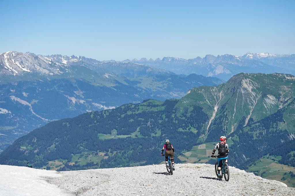 Bergpanorama bei der Hörnli Trailjagd Arosa 2019