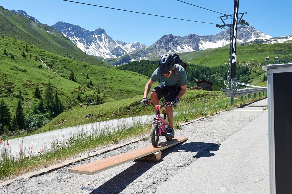 Kids Bike Challenge bei der Hörnli Trailjagd Arosa 2019