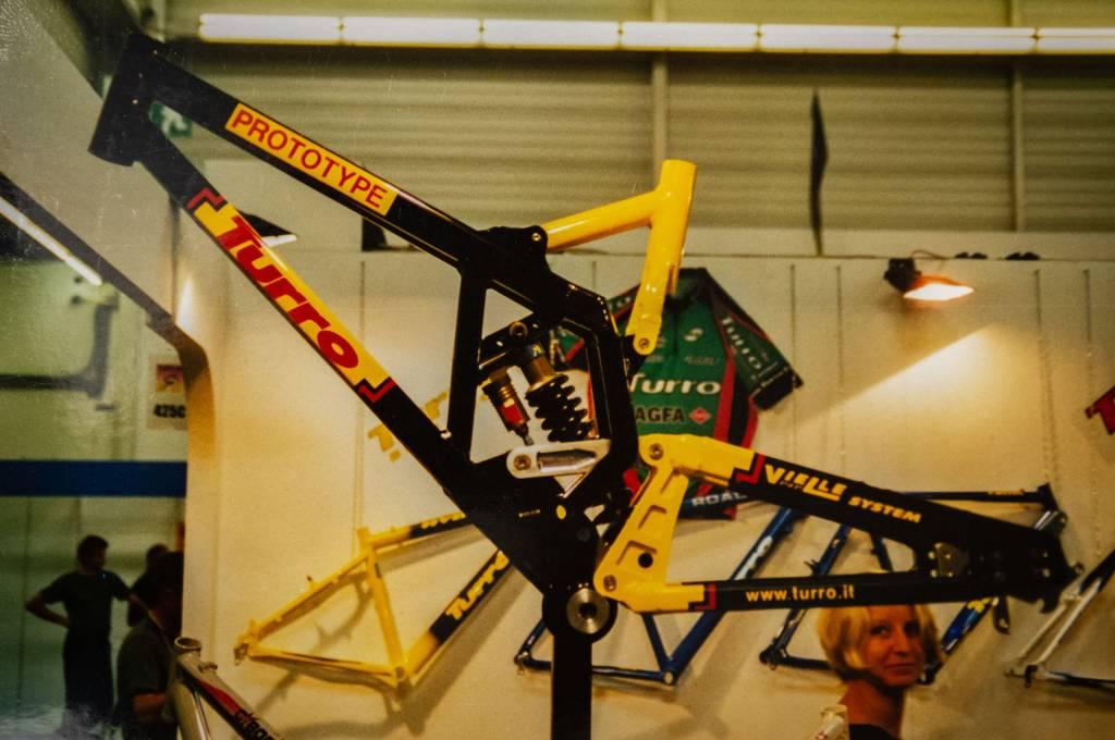 Oldschool Turro Mountainbike Rahmen Prototyp