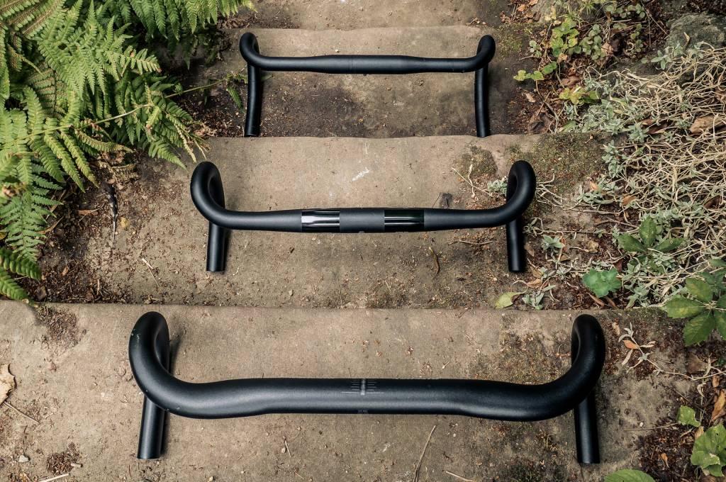 Rennradlenker Übersicht auf Treppe