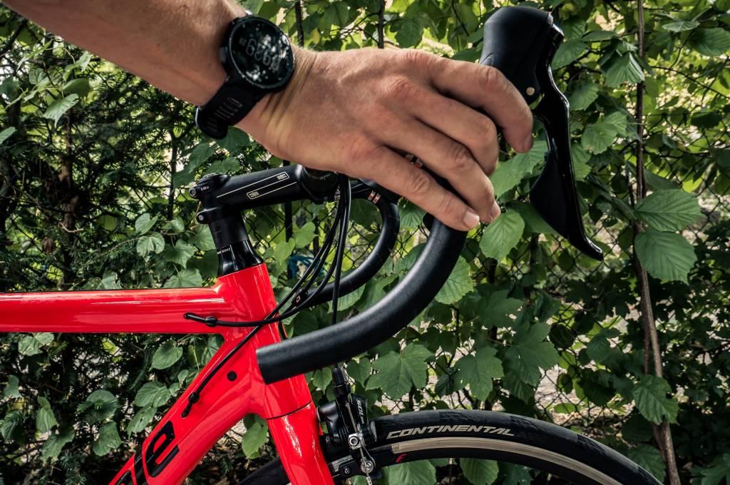 Rennradlenker Schalthebel Position zu hoch