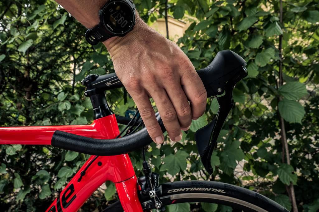 Rennradlenker Schalthebel Position zu weit vorne