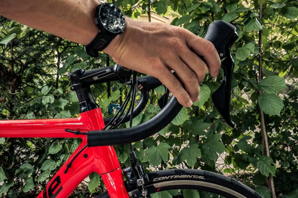 Rennradlenker neutrale Schalthebelposition