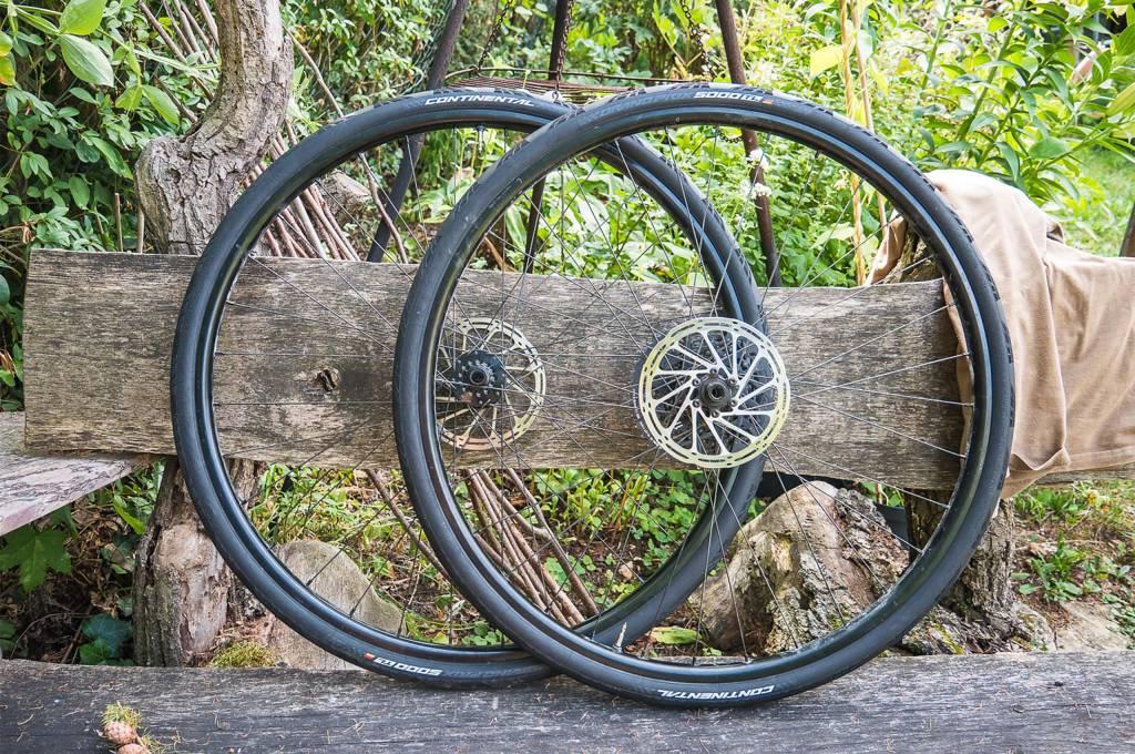 Rennradlaufräder mit Continental GP5000