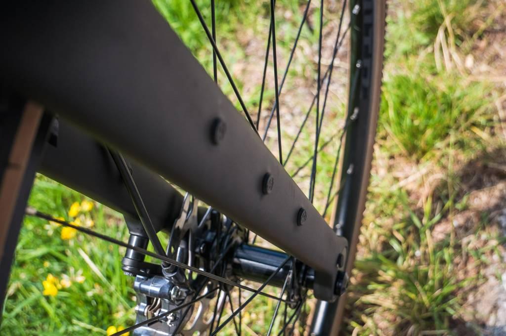 DIe GT Grade Gabel hat Gewindeösen für Gepäck ander GAbel wie es Bikepacker gern haben.