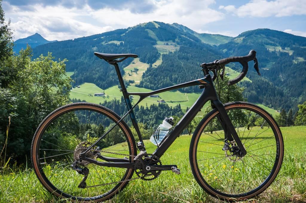 GT Grade Carbon Pro 2020 Testbike im Sonnenschein