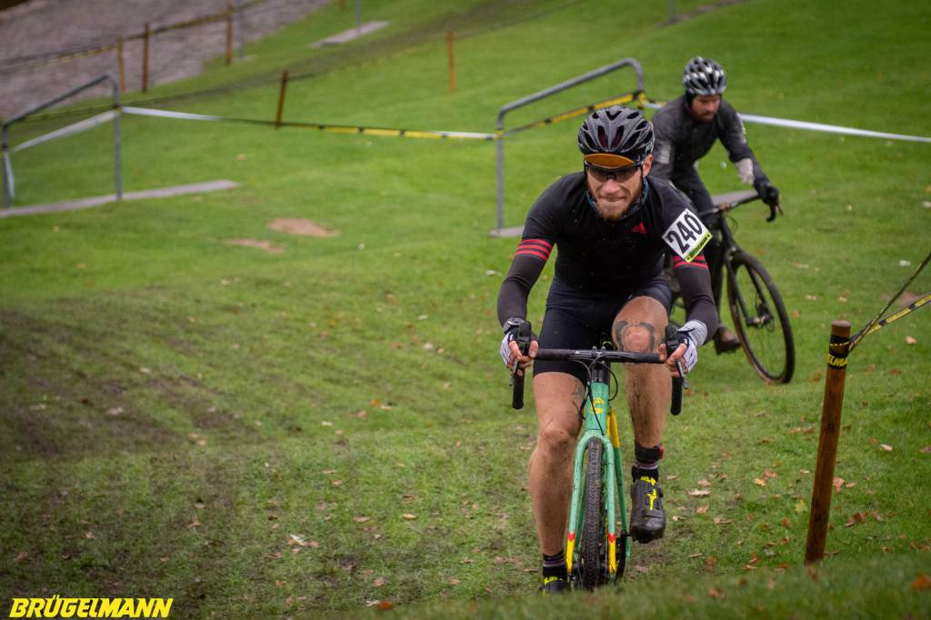 Cyclocrosser beim Munich Supercross 2018
