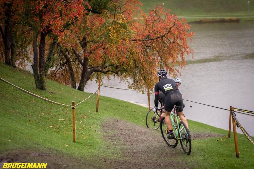 Cyclocrosser beim Munich Supercross 2018