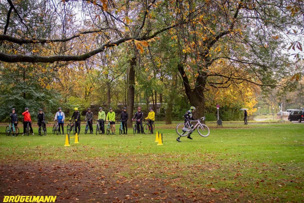 Cyclocross Workshop beim Munich Supercross
