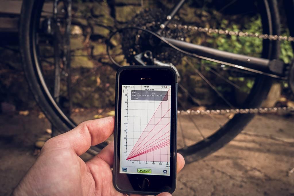 Gear Calculator App in Aktion
