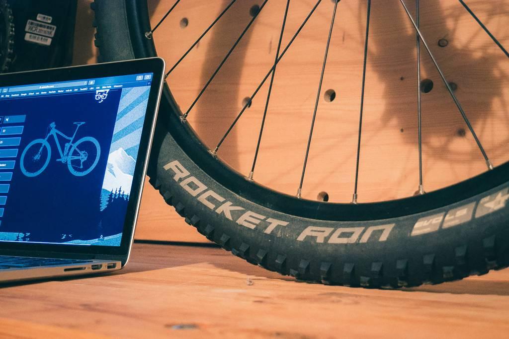Schwalbe Pressure Prof auf einem iPad