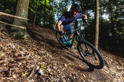 Timo Pritzel auf seinem Marin Wolf Ridge