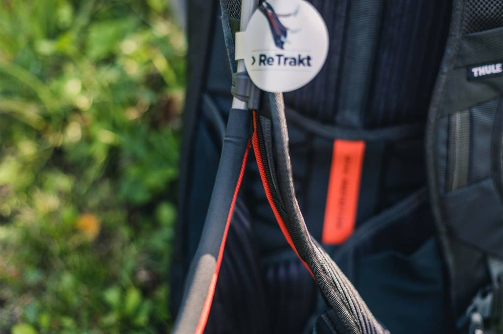 Detail ReTrakt System am Thule Rail 12L Pro