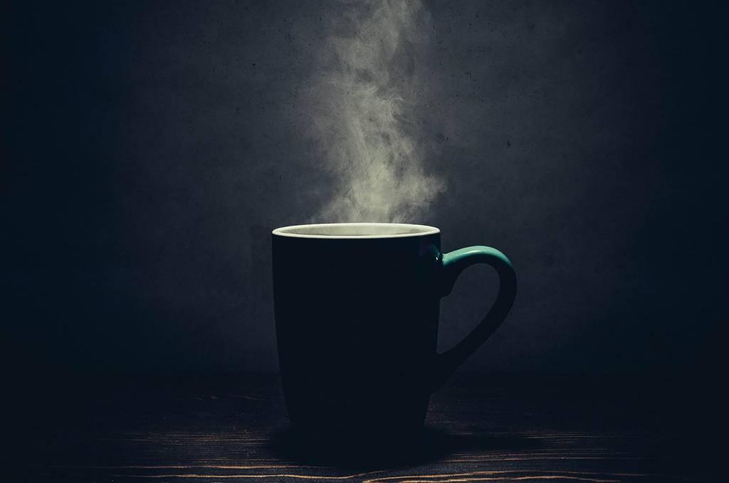 Heiße Tasse Kaffee