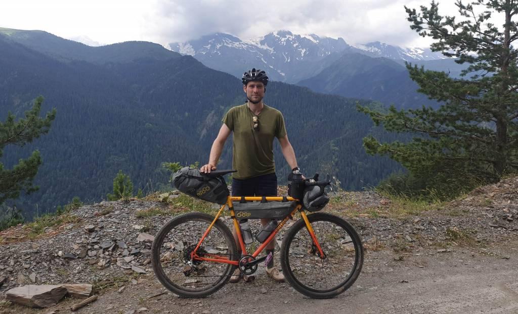 Ben Lubin Bikepacking Kaukasus