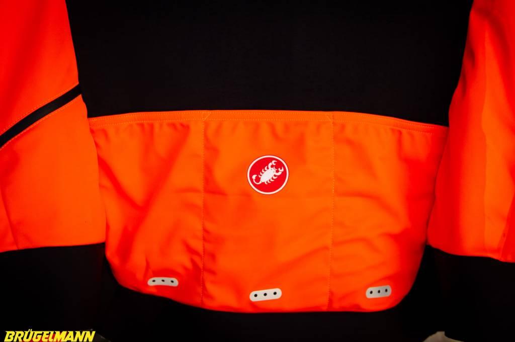 Castelli Alpha ROS Jacke Taschen