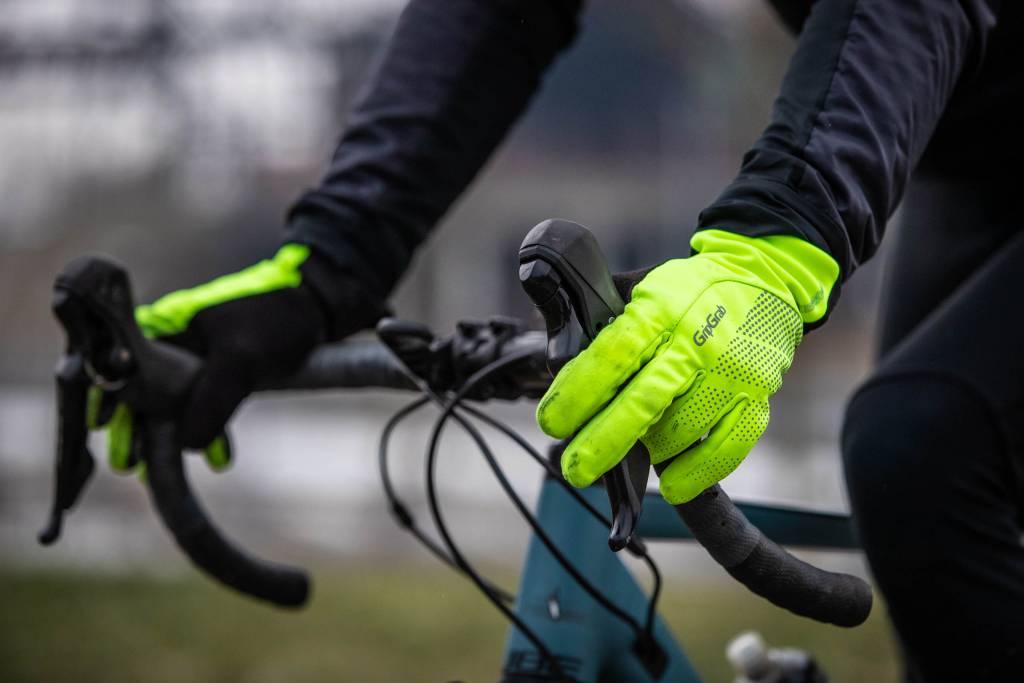 GripGrab Ride HiVis Handschuhe Rennrad