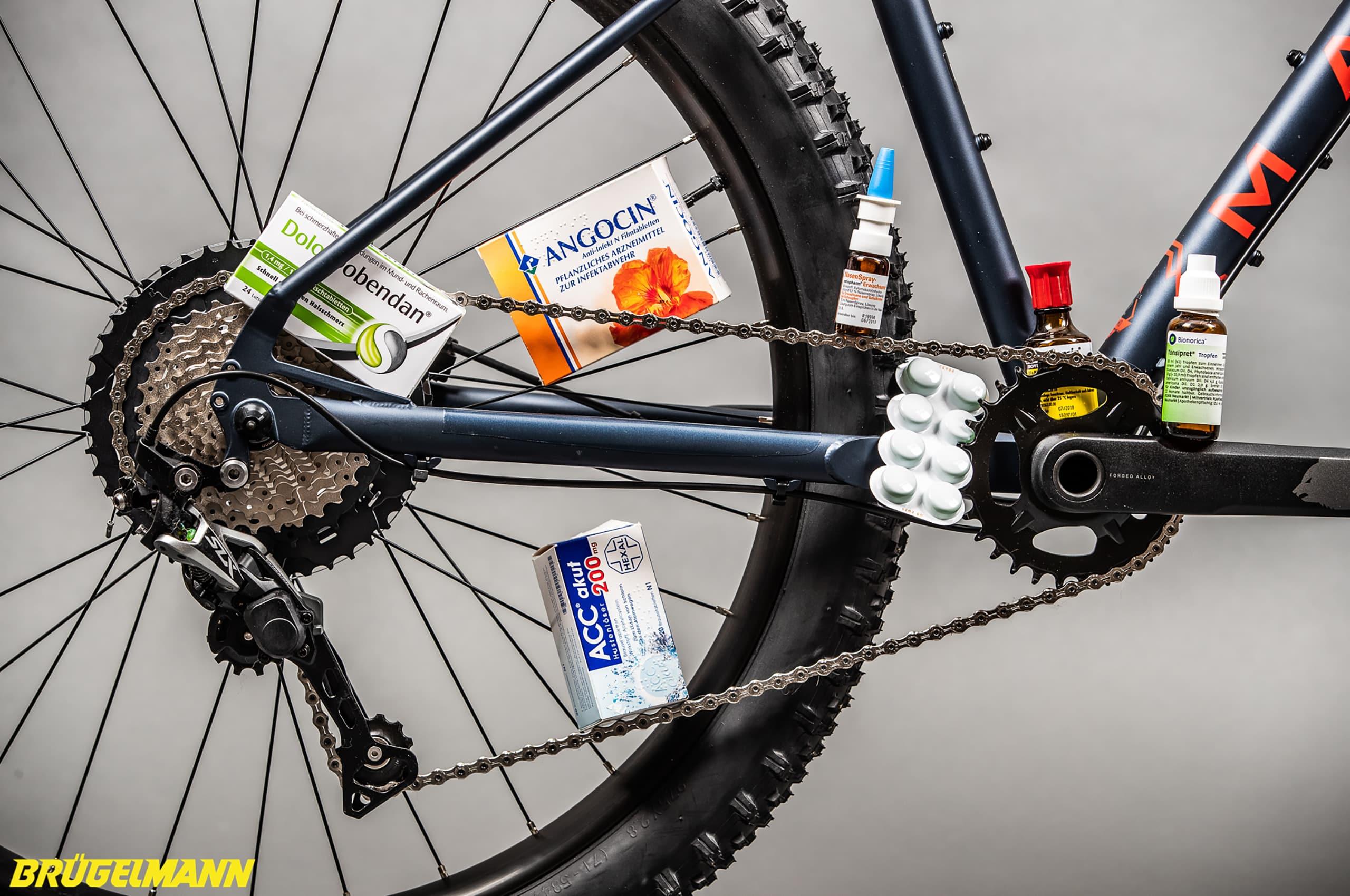 Medikamente Erkältung Radfahren