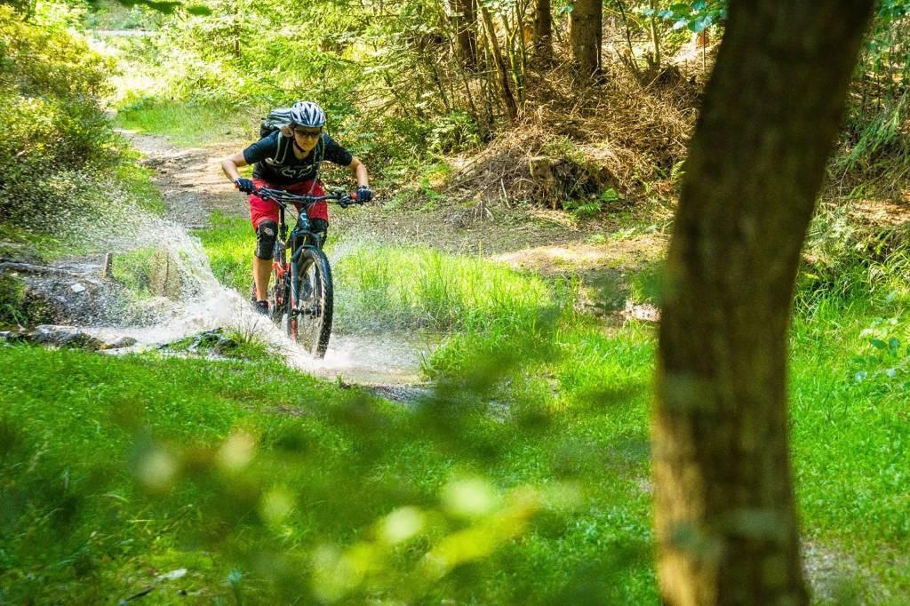 Svenja Nilsson Mountainbike Fichtelgebirge