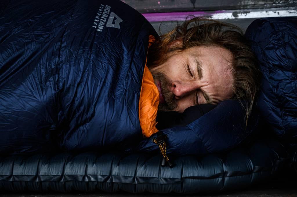 Bikepacking Schlafen