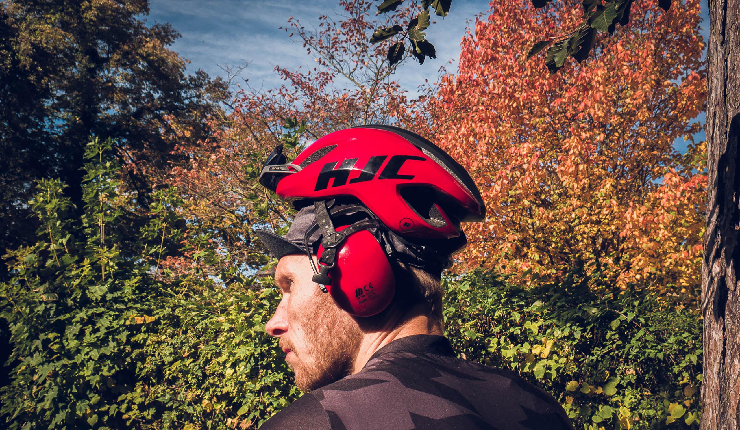 Fahrradhelm Kopfhörer