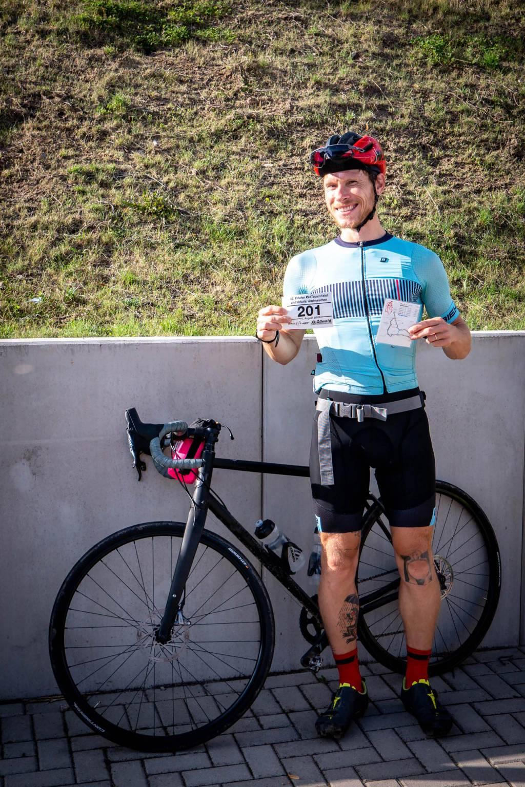 Radtourenfahrt RTF Startnummer