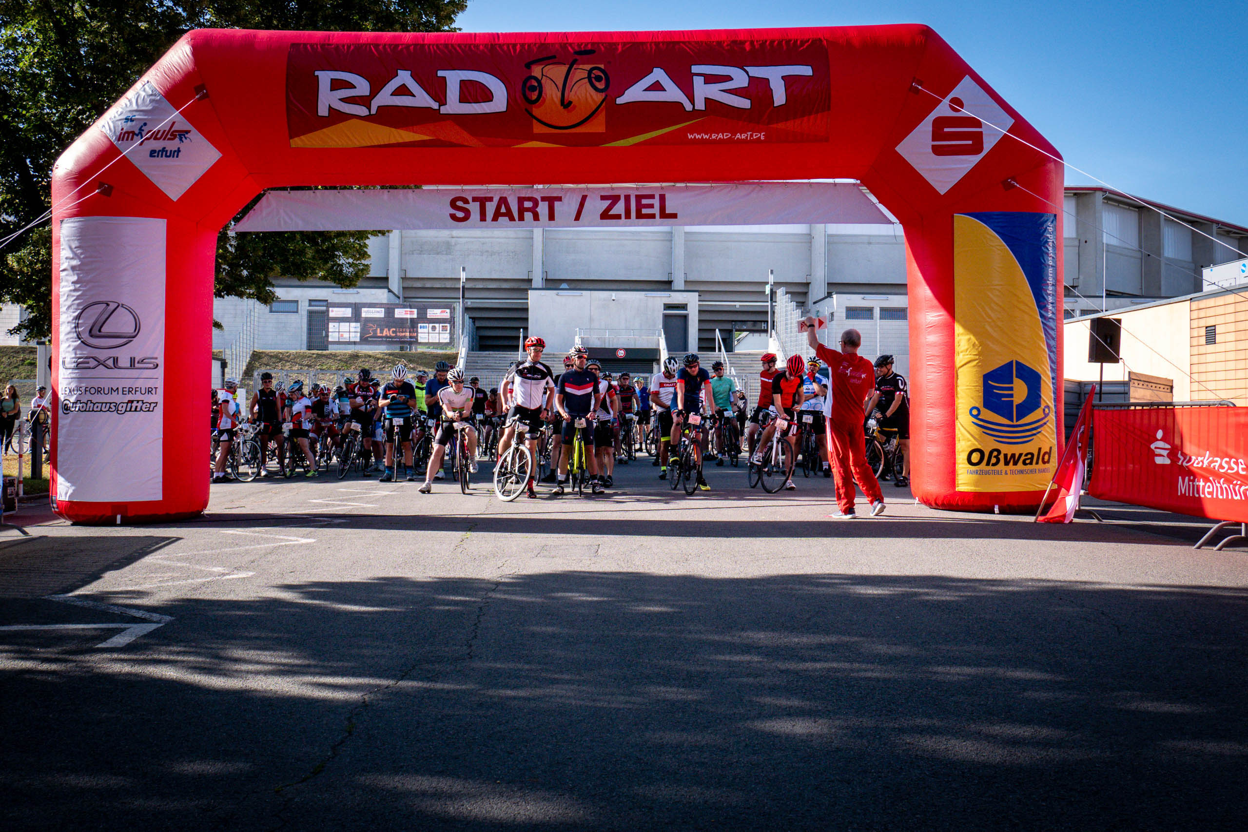 Radtourenfahrt impuls Erfurt