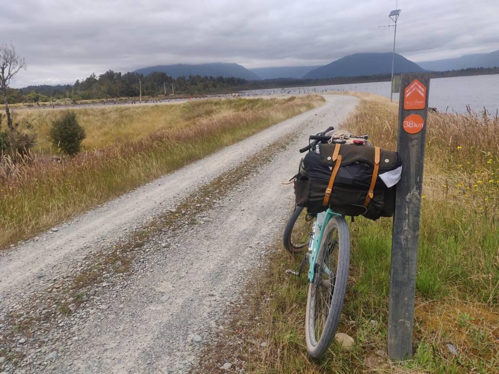Bikepacking Neuseeland Schotterstraße