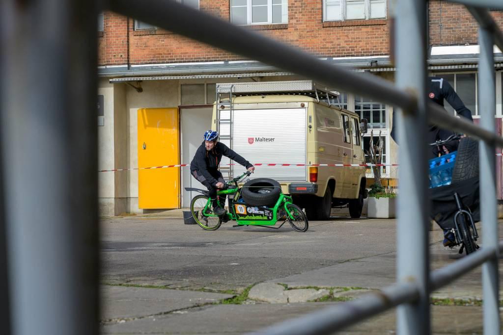 kolektif Berlin 2020 Cargobikerennen