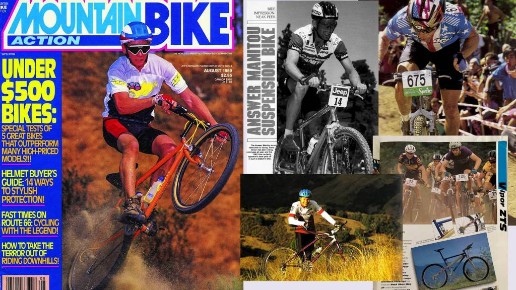 Mountainbike Action Magazine August 1989
