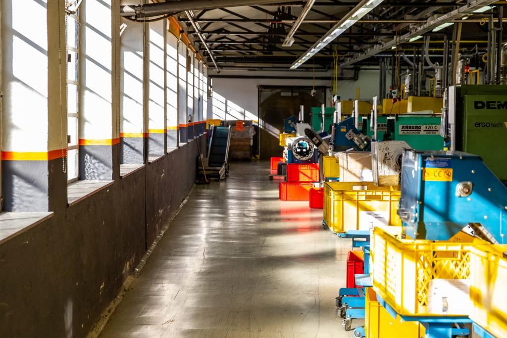 SKS Schutzblech Produktionshalle