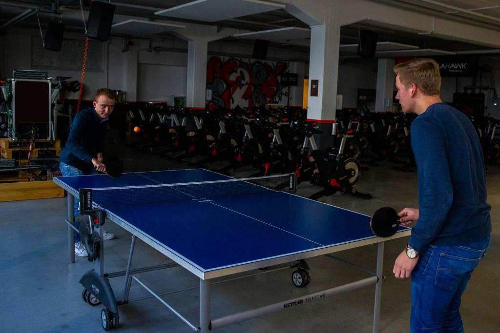 SKS Hausbesuch Tischtennisplatte