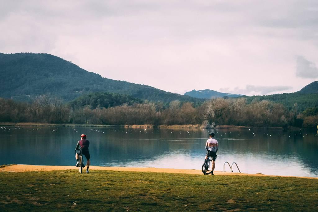 Gravelbikes Lago Estany de Banyoles