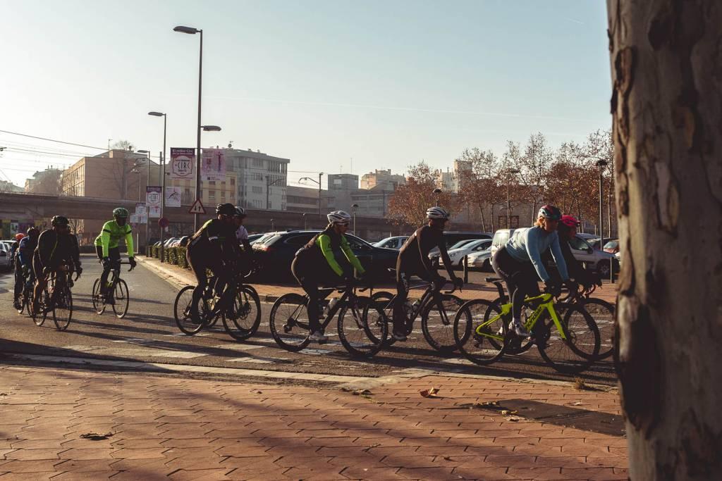Girona Rennrad Gruppenausfahrt