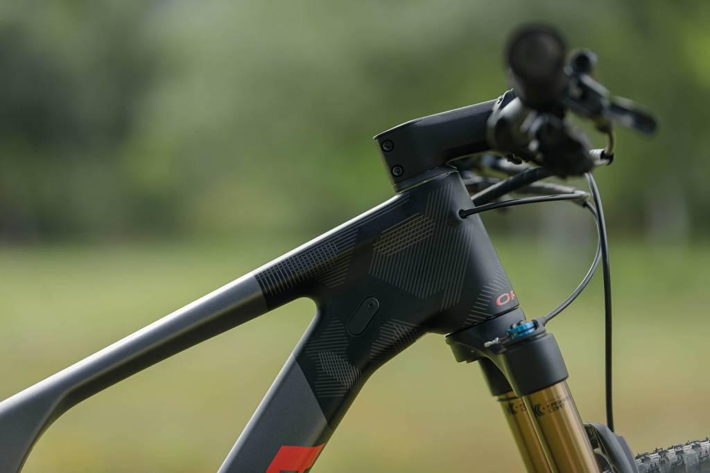 Orbea Oiz OMX 2021 Mountainbike Steuerrohr