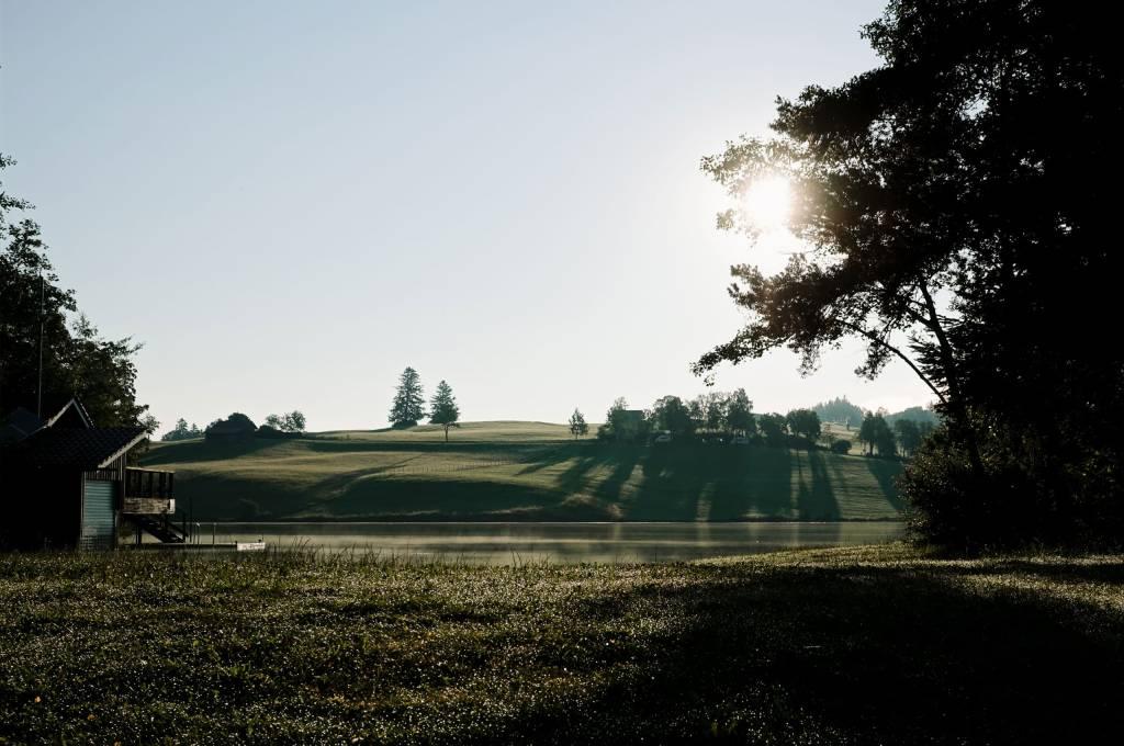 Allgäu Landschaft Sonnenaufgang