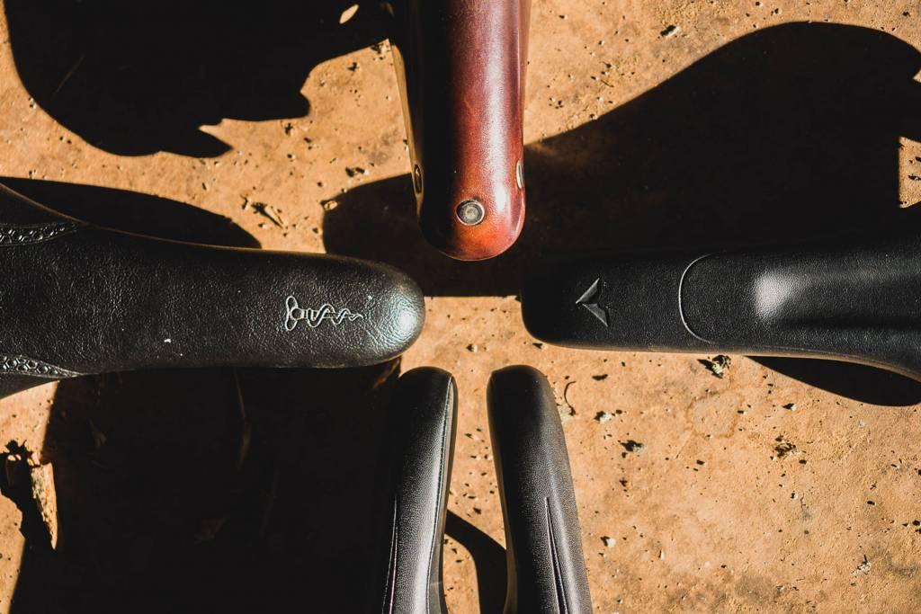 Fahrradsättel Cutout