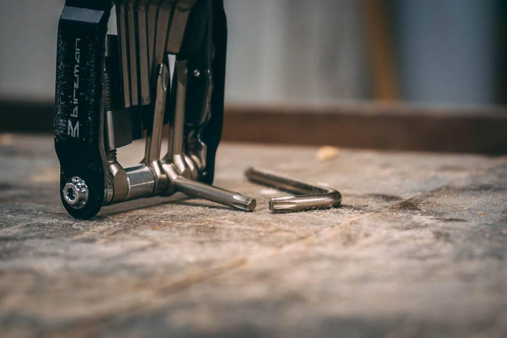 Fahrradwerkstatt Werkzeug Torxschlüssel